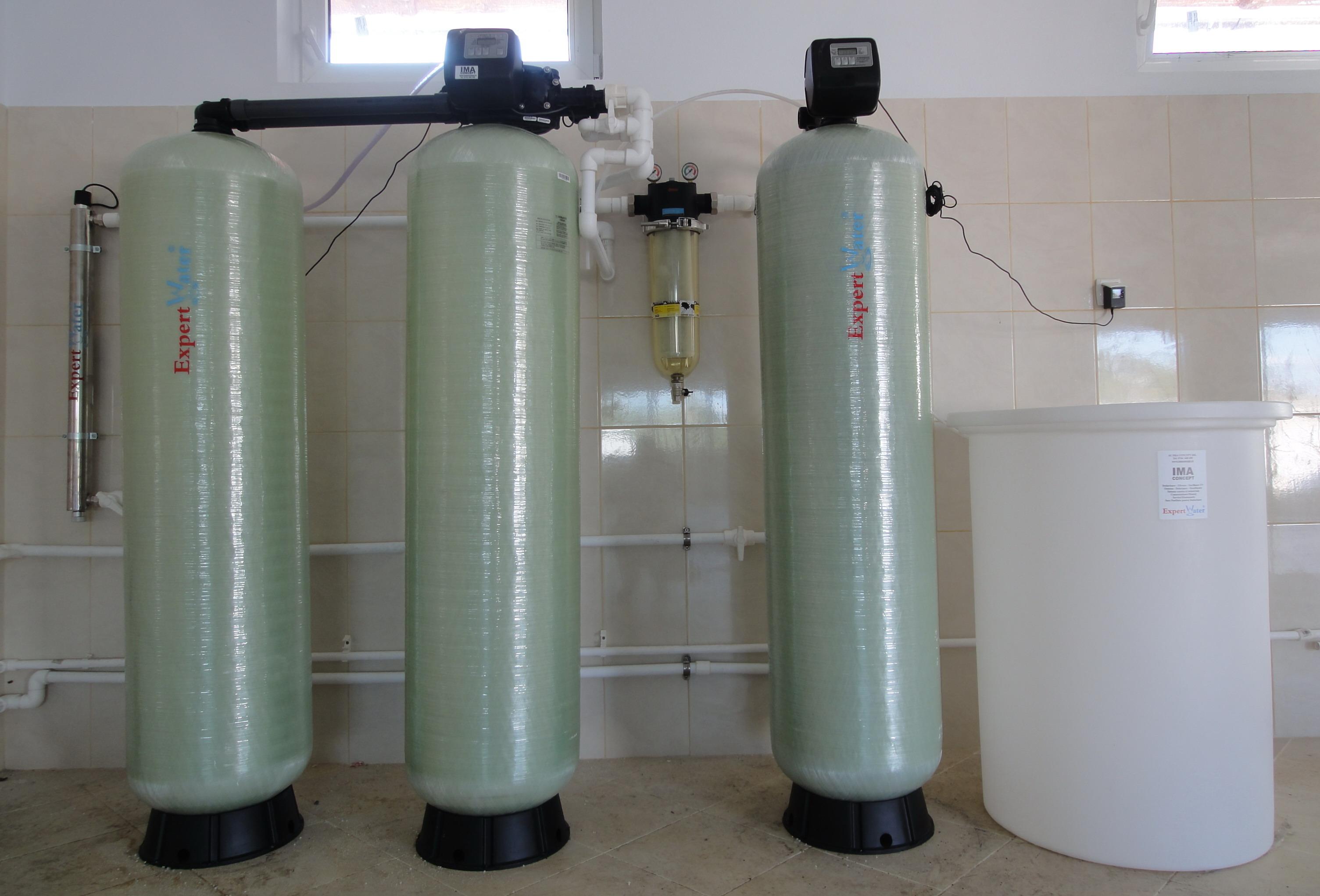 Filtru Automat cu functie de Desulfurare + Dedurizator-Demanaganizator + Retinere Amoniu