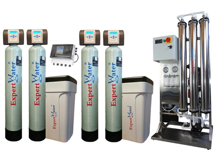 Sisteme industriale complete de tratare apa