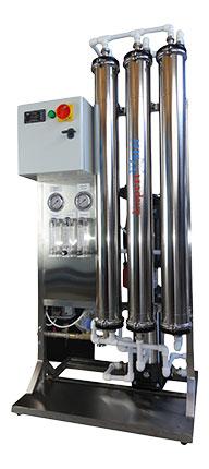 Osmoza inversa industriala EWRO 750 - lateral